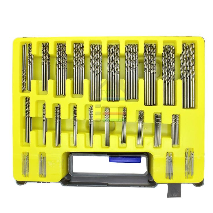 13.32$  Buy here - New 150PC 0.4-3.2mm HSS Mini Micro Power Drill Bit Set Small Precision Twist Drilling Kit with Carry Case for PCB Crafts Jewelry   #aliexpress