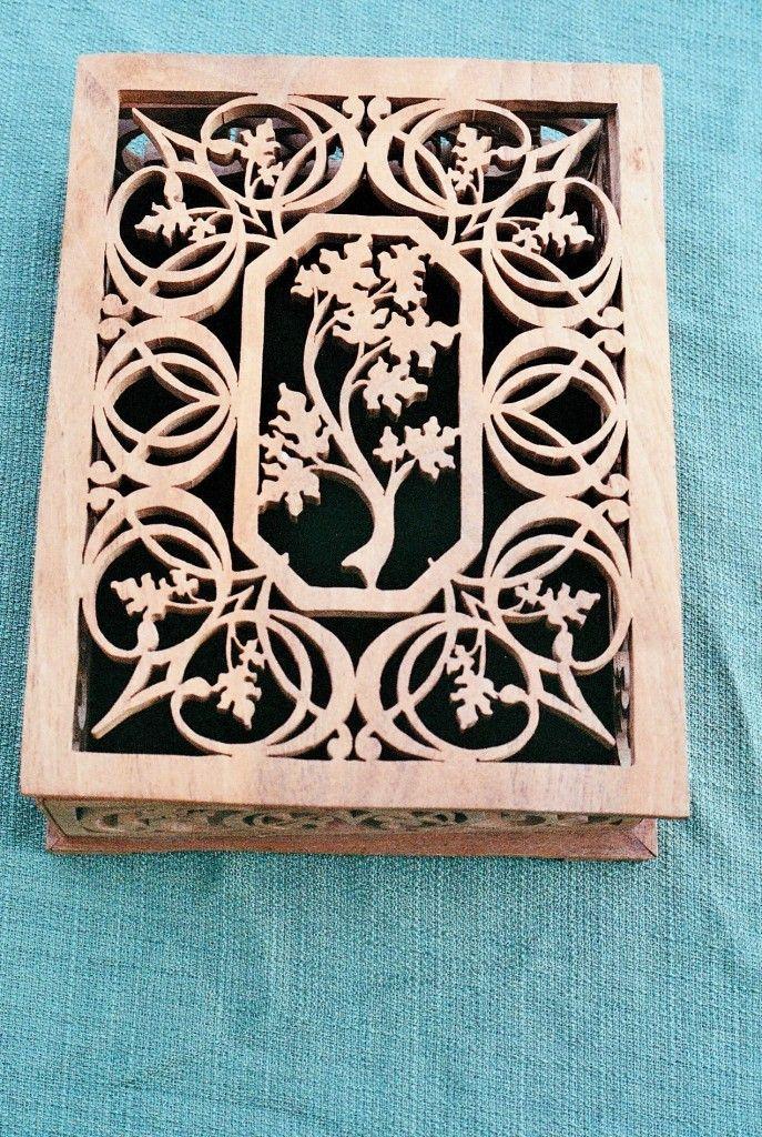 fretwork patterns | Jewelry Box Scroll Saw Patterns