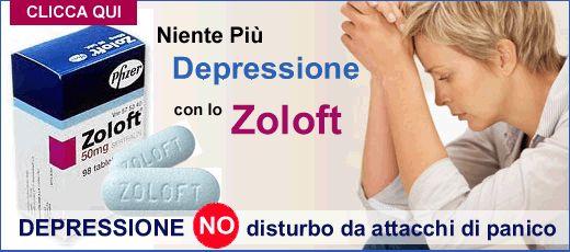 Si può comprare online le compresse Zoloft (Sertralina) ?