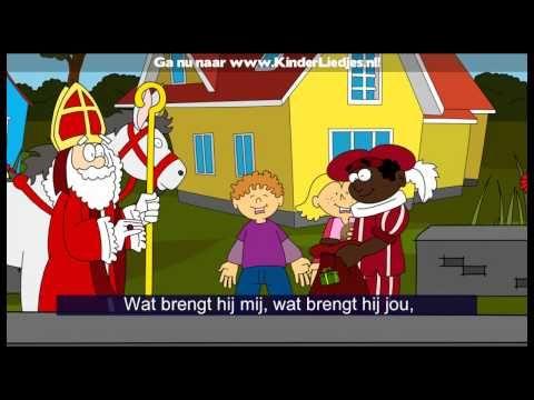 Liedjes: Sinterklaasliedjes van vroeger - Hij komt, hij komt, de lieve, goede Sint