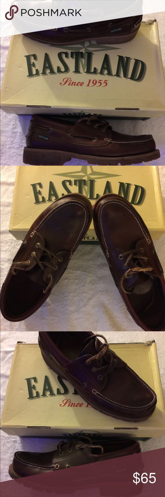 Eastland shoes Throw back eastland dock shoes cordovan is the color wore them less than 5 times eastland Shoes Boat Shoes