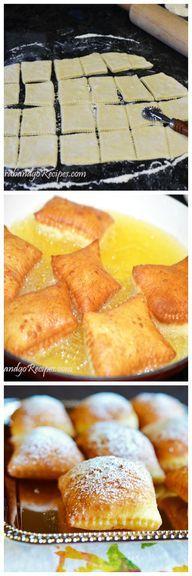 Beignets Recipe - Ponchiki