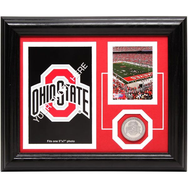 Ohio State Buckeyes Collegiate Fan Memories 10'' x 12'' Desktop Football Stadium Photomint Frame - $39.99