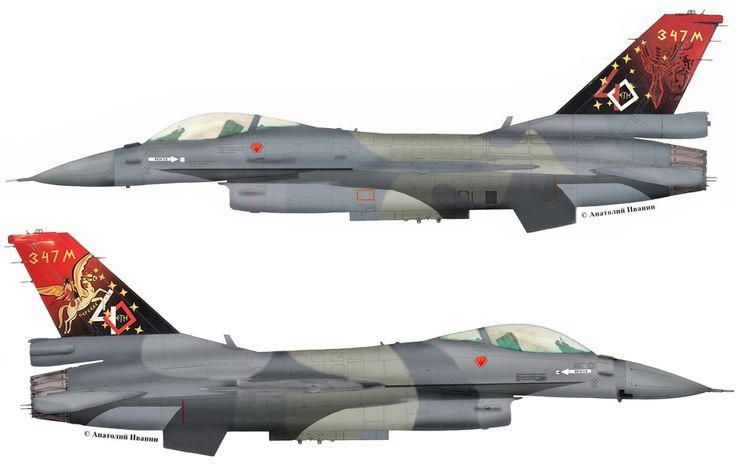 "F-16C Block 52 from 337 Mira ""Ghost"" anniversary 40 sqn 337"