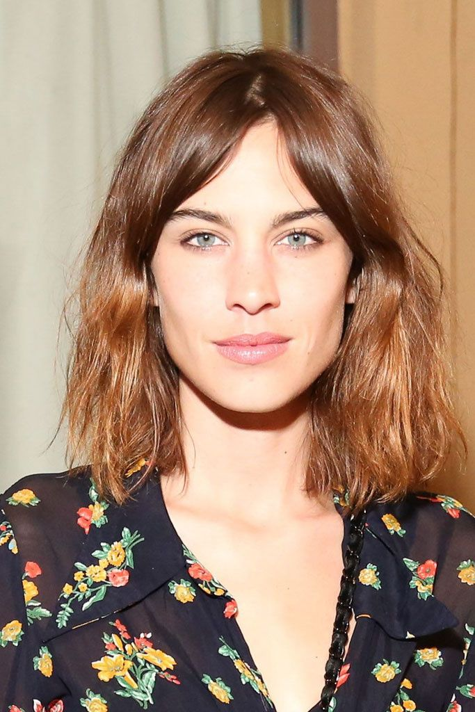 32 Best Alexa Chung Images On Pinterest Hair Cut Hairdos And