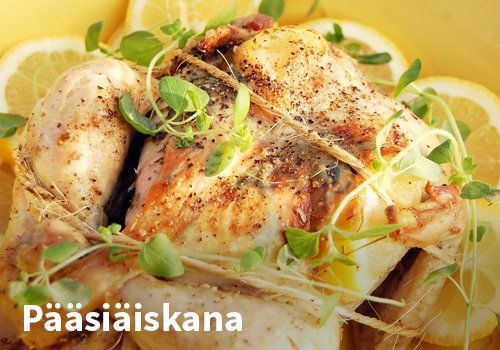 Pääsiäiskana, Resepti: Arla #kauppahalli24 #pääsiäinen #ruoka #resepti #kana
