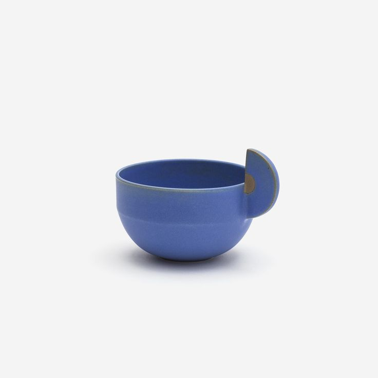 // Demi-Lune Teacup Blue