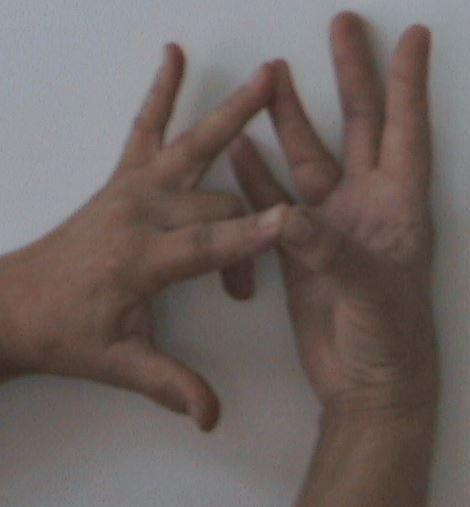 Észlelést fokozó kéztartás (Bodhaka-mudra) - Késmárki László