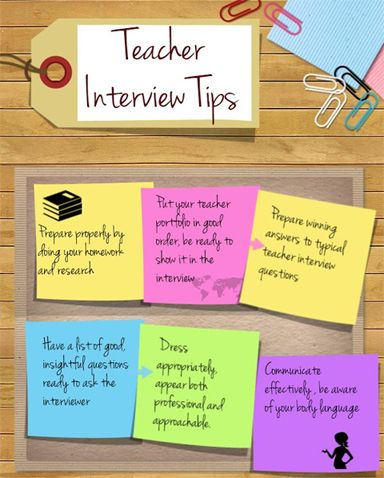 If you were to hire a teacher...?