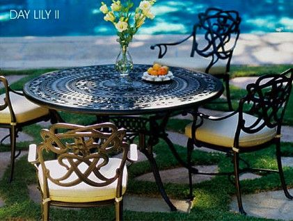 Day Lilly II From The Historic Collection | Brown Jordan Patio Furniture |  Pinterest | Brown Jordan, Patios And Brown