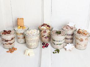 Wir können einfach nicht genug vom Power-Frühstück Overnight Oats bekommen! Deshalb zeigen wir euch sieben winterliche Oats-Rezepte von Bratapfel über Lebkuchen bis hin zu Spekulatius!