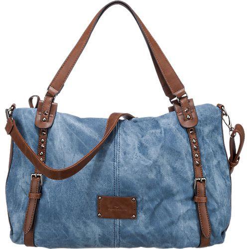 TOM TAILOR Gesapu Handtasche blau Damen