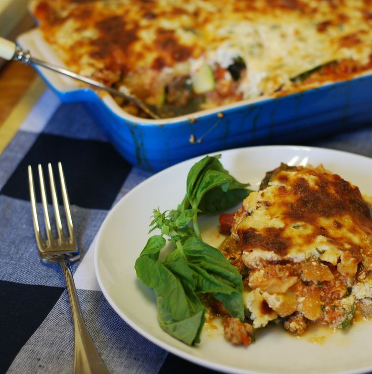 Make This Weekend: The Healthiest Lasagna Ever | The Muse