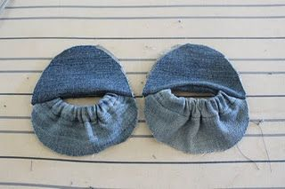 DIY Baby Shoes (recycled from old jeans) | Prudent Baby