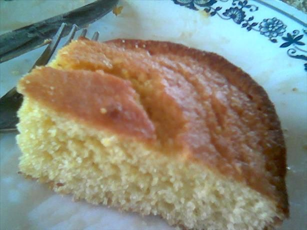 Pa's Old-Fashioned Johnny Cake / Cornbread... 2 cups flour,  1/2 cup sugar, 2 tablespoons baking powder, 1 teaspoon salt, 2 cups cornmeal, yellow ; 4 eggs, 2 cups milk, 1 cup oil