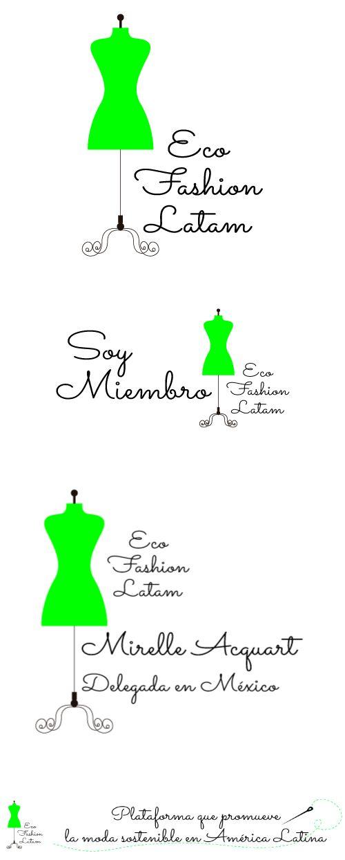 Eco Fashion Latam  www.estudio201.com Diseño de identidad: logo Dirección artística: composición de piezas gráficas. España