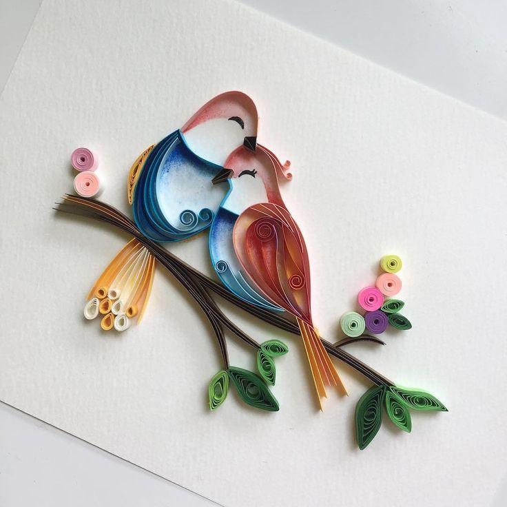 квиллинг открытки квиллинг птицы решение звезда