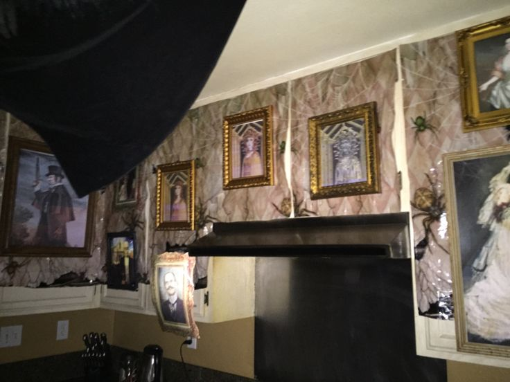 52 best our house haunted mansion dining room images on for Haunted dining room ideas