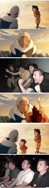 This was how I felt!! I totally thought we were gonna learn about what happened to Zuko's mom! So disappointed.