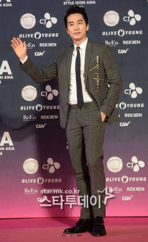Song Seung Heon STYLE ICON ASIA 2016