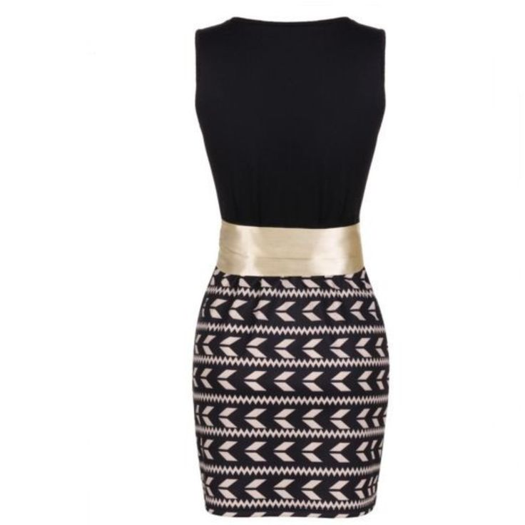 gold wide belt black bodycon dress to work sleeve