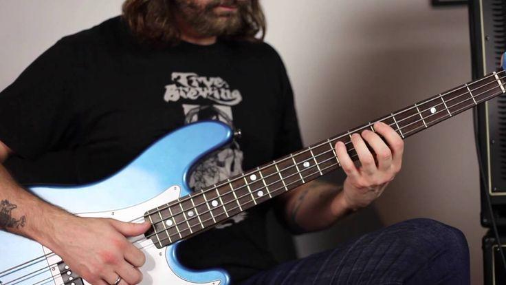 Pete Griffin plays through the Ashdown ABM-600 EVO 4 bass head - Finger ...