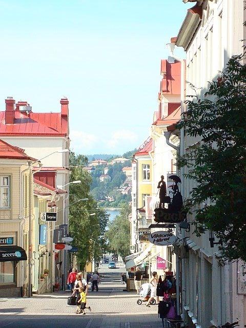 Downtown Ostersund, Sweden