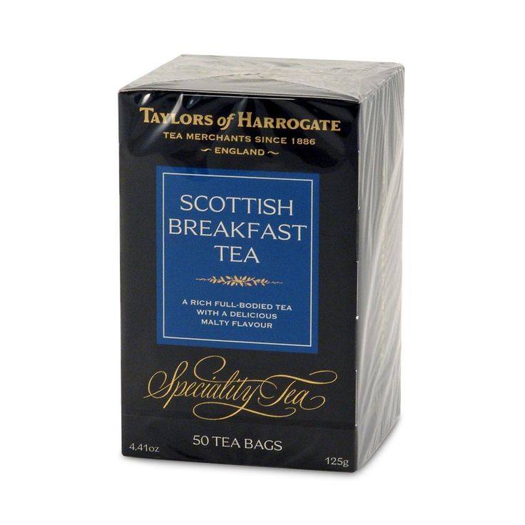 Taylors of Harrogate Scottish Breakfast Tea Bags - 50 count