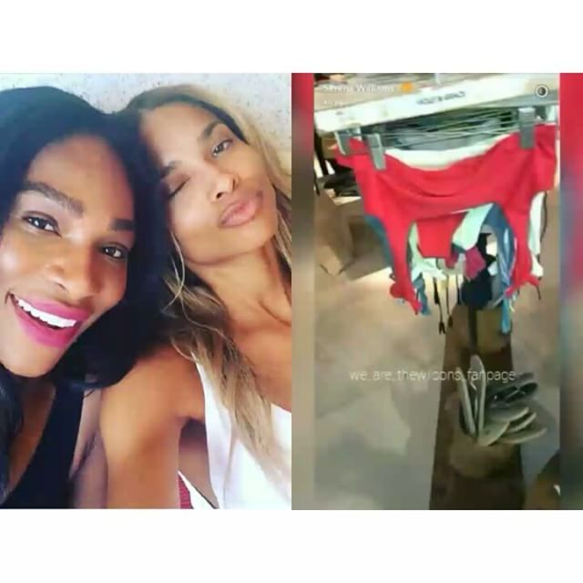 That moment when you realize you may have been mispronouncing @ciara's baby's name. �� Auntie 'Rena is scoping out swimsuits.  Meanwhile we need Ci to clarify pronunciation. ������ #SiennaPrincessWilson���� #ciara #russellwilson #csquad #russci #ciarawilson #teamciara #beautiful #serenawilliams #funny #humor #baby #babygirl #celebrity #hollywood #blackgirlmagic #blackgirlsrock #wce #babynames #revlonxciara #chooselove #women #friends #smile #family #friendship…