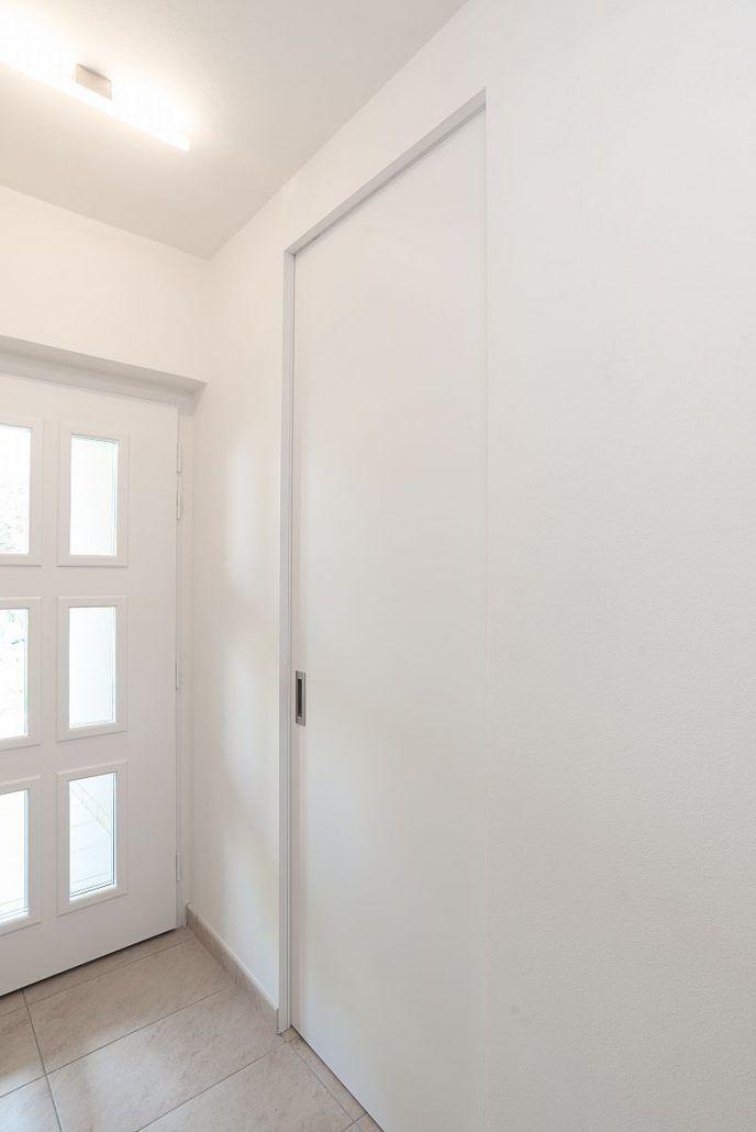 Posuvné dveře v bezobložkovém stavebním pouzdře Easy