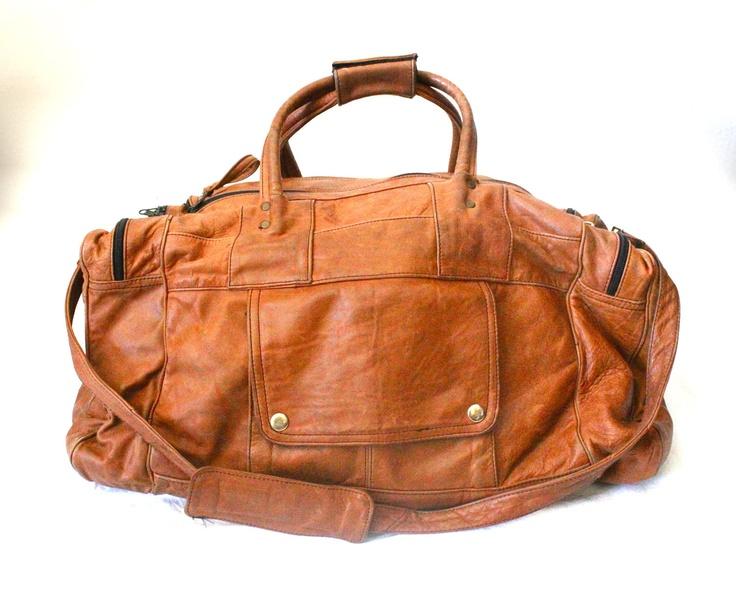 Vintage Oversized Caramel Leather Luggage Duffle Bag.14800, Caramel Leather, Leather Luggage, Claudedonohoshop, Oversized Caramel, Duffle Bags, 148 00, Vintage Oversized, Luggage Duffle