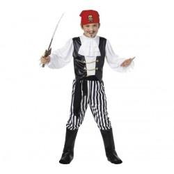 SMIFFIES Disfraz de Pirata Talla L - 10/12 años - UKA Digital