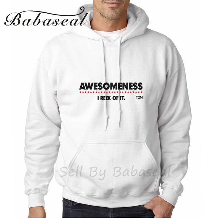 >> Click to Buy << Babaseal Awesomeness Long Sleeve Anime Hoodies Off White Justin Bieber Sweatshirt Linkin Park Hoodie Men Dropshipping Sweatshirt #Affiliate