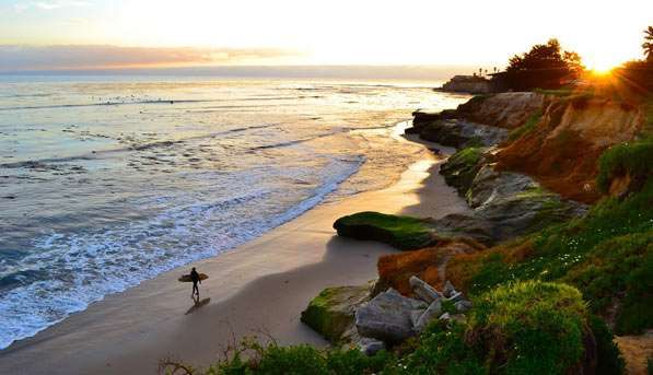 "Head to Pleasure Point (locals call it ""the point""), the most iconic surf spot in Santa Cruz, to cat... - Sylvia Valentine"