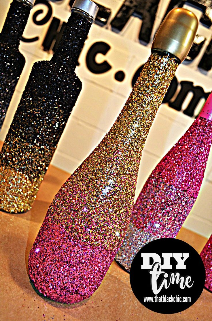 DIY Time - glitter ombre bottles!  | A #2usestuesday Feature