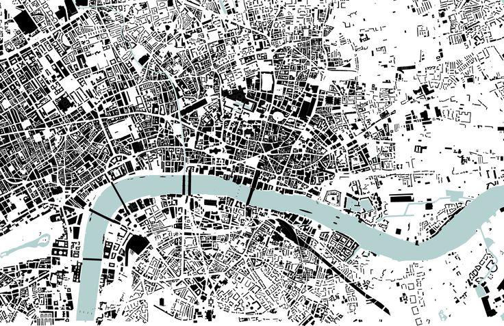 London Nolli map, 1:20.000