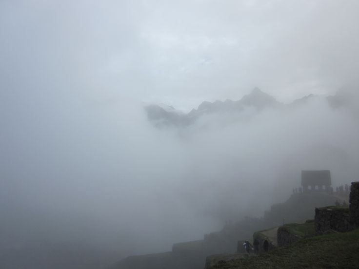 Early Morning at Machu Picchu