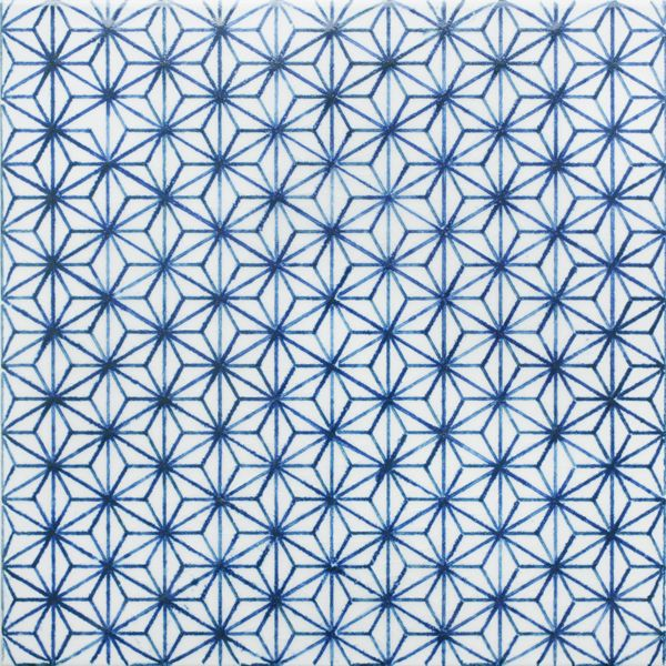 Tile.Komon Pattern, Mano Tile, Porcelain Tile, Madeamano, Made A Mano, Tile Pattern, Beautiful Tile, Blue Stars, Blue Pattern