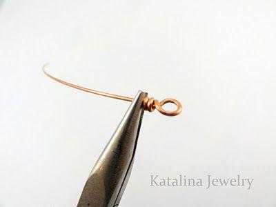 Wire working tutorialJewelry Crafts, Wire Work, Techniques Series, Diy Jewelry, Basic Wire, Wraps Loop, Katalina Jewelry, Loop Tutorials, Work Techniques