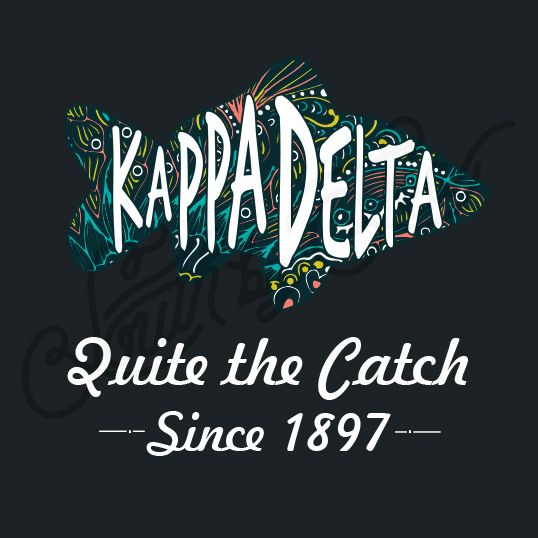 Sorority Recruitment Kappa Delta Tribal Fish Quite The Catch South By Sea