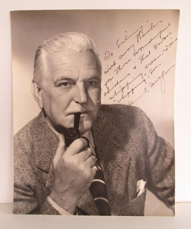 SOLD--- Frank Morgan, Wizard of Oz Signed Autographed Photo
