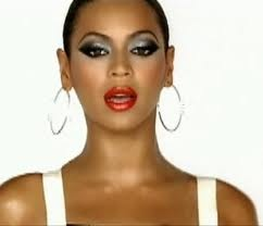 Beyonce - makeup from greenlight video
