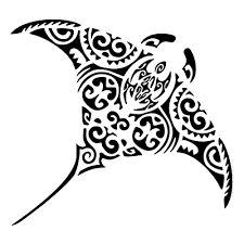 tribal manta ray tattoo - Google Search