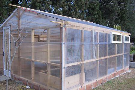 Gu a pr ctica c mo construir un invernadero familiar con fotos paso a paso huerta en casa - Invernaderos para casa ...