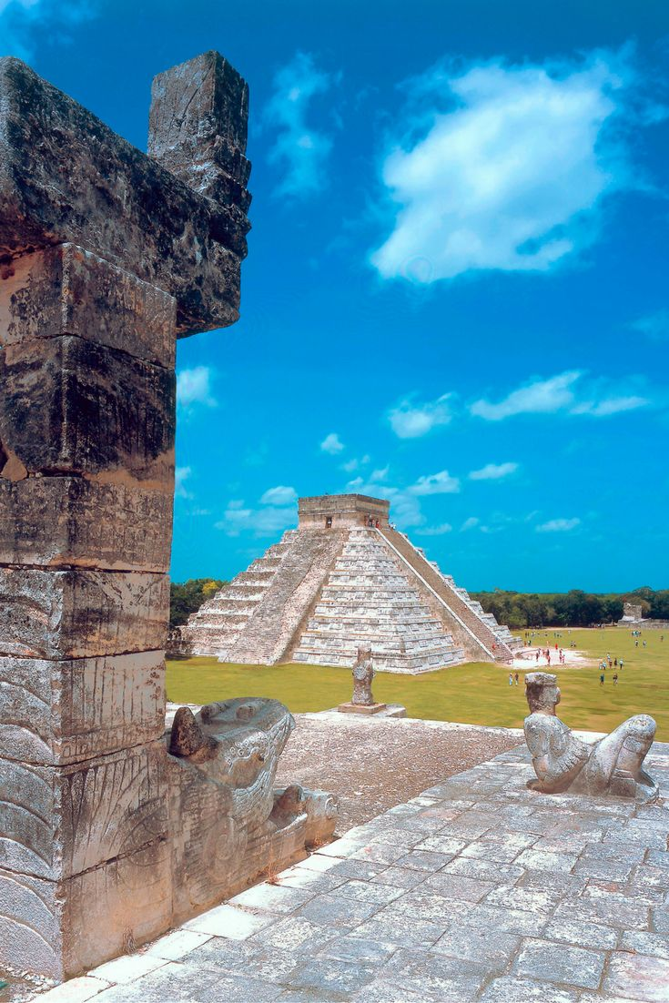 Chichen Itza was designated a World Heritage by UNESCO in 1988