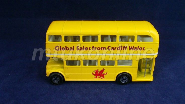 CORGI DOUBLE DECKER BUS | MADE IN GB | GLOBAL SALES FROM CARDIFF WALES