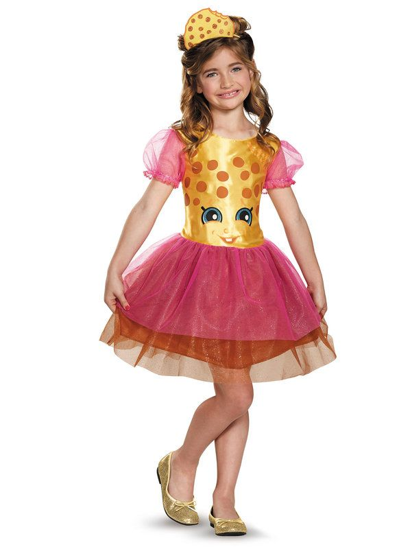 Check out Shopkins Kookie Cookie Classic Girls Costume - Shopkins Girls Costumes from Wholesale Halloween Costumes