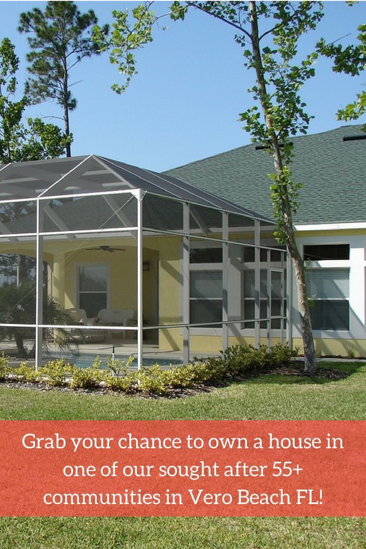 Find a beautiful retirement home in one of the new construction homes in the 55+ communities of Vero Beach FL.