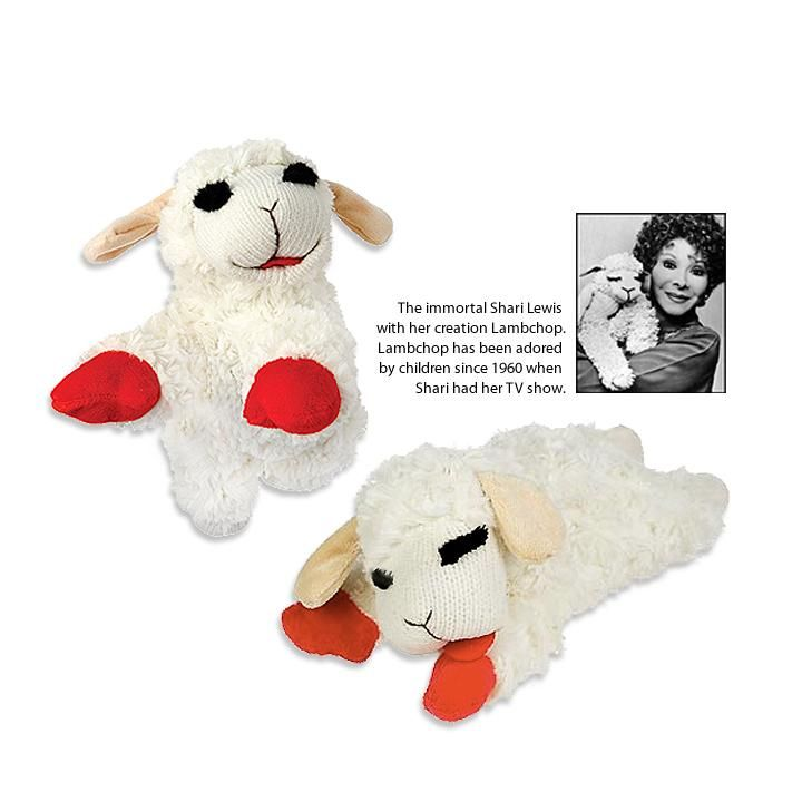 Beloved Lamb Chop The Lamb The Legend The Dog Toy Dog Toys