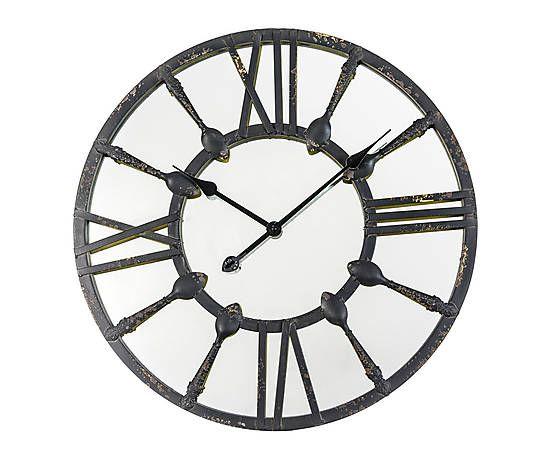 Les 25 meilleures id es de la cat gorie horloge fer forg for Horloge en fer forge noir
